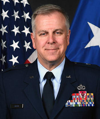 Brigadier General John J. Allen Jr. professional photo