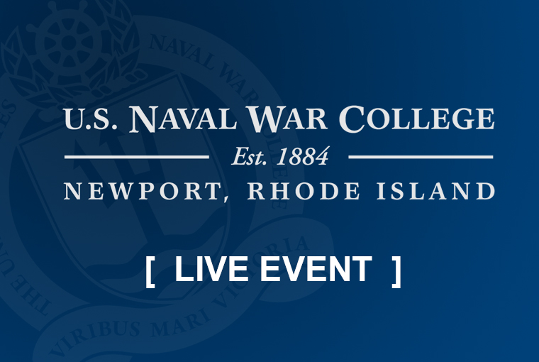 U.S. Naval War College video conference banner