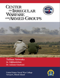 Taliban Networks in Afghanistan by Dr. Antonio Giustozzi