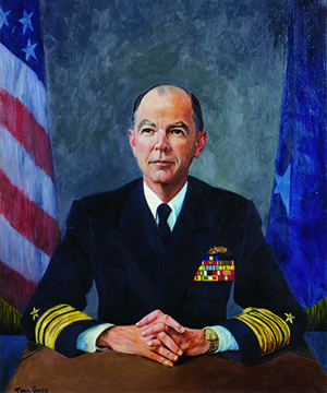Vice Admiral Julien J. Le Bourgeois
