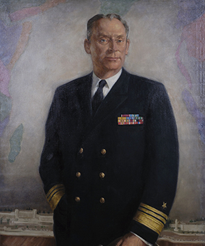 Vice Admiral Richard G. Colbert