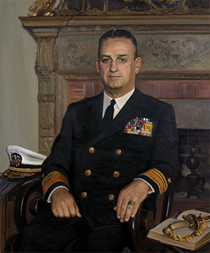 Vice Admiral Charles L. Melson