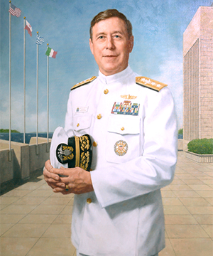 Rear Admiral Ronald A. Route