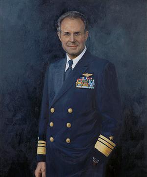 Vice Admiral James E. Service