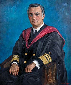 Vice Admiral Stansfield Turner