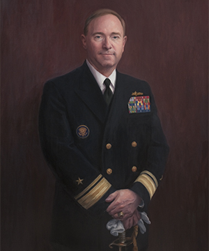 Rear Admiral James P. Wisecup