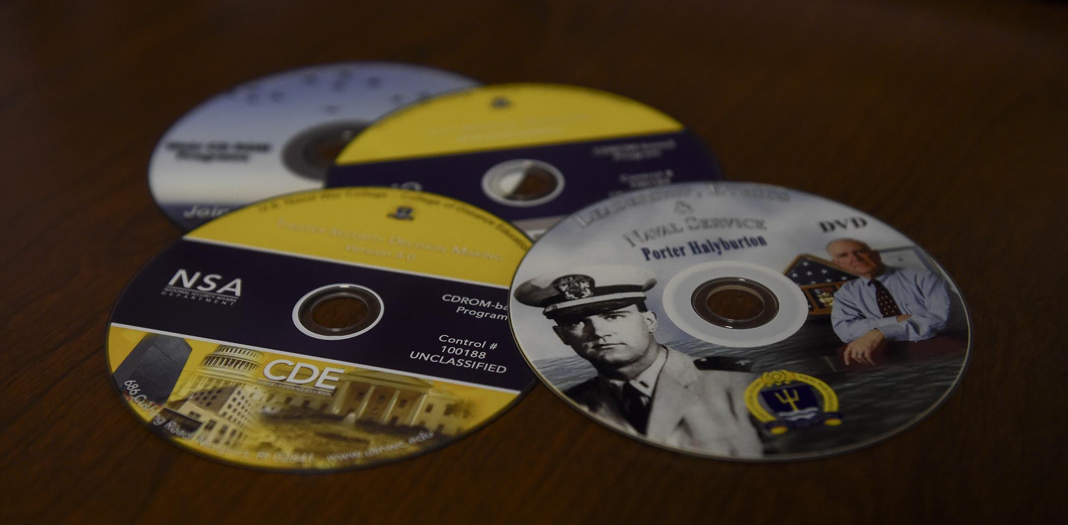 Photo of CD-ROM CD's
