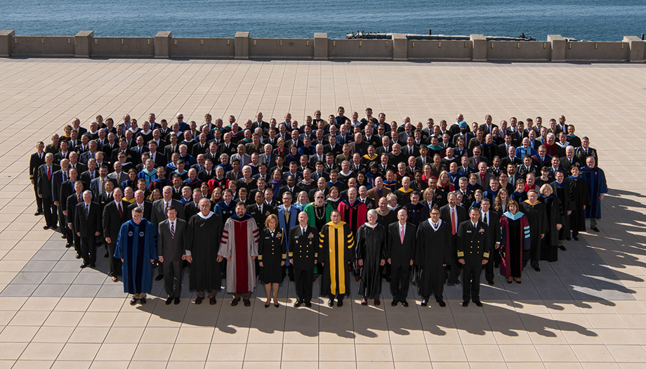 Faculty group photo
