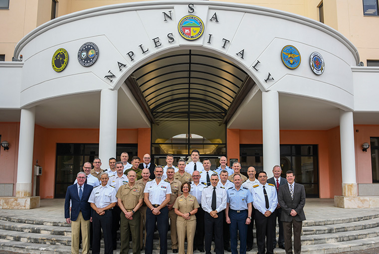 The Combined Force Maritime Componant Commander Course was held at Naval Support Activity Naples, Italy, Oct. 29 - Nov. 1, 2019.