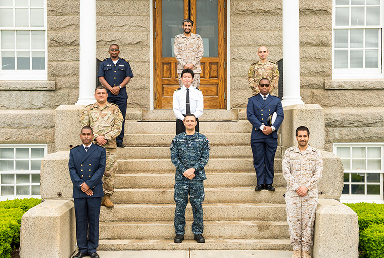 Nine officers from six U.S. partner nations graduated on June 5 from the U.S. Naval War College's International Maritime Staff Operators Course.