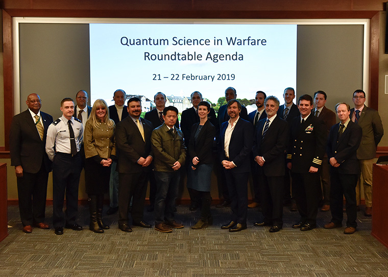U.S. Naval War College hosted the first Quantum Science in Warfare roundtable Feb. 21-22, 2019.