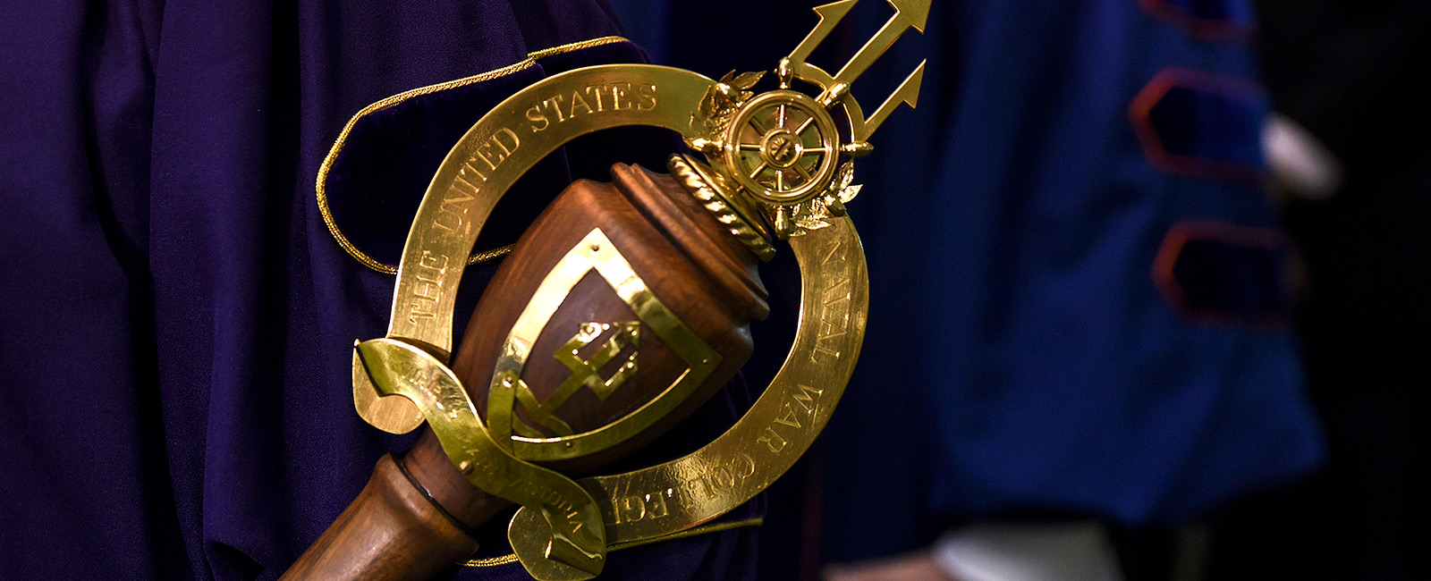 The Mace is a symbol of U.S. Naval War College as an academic institution.