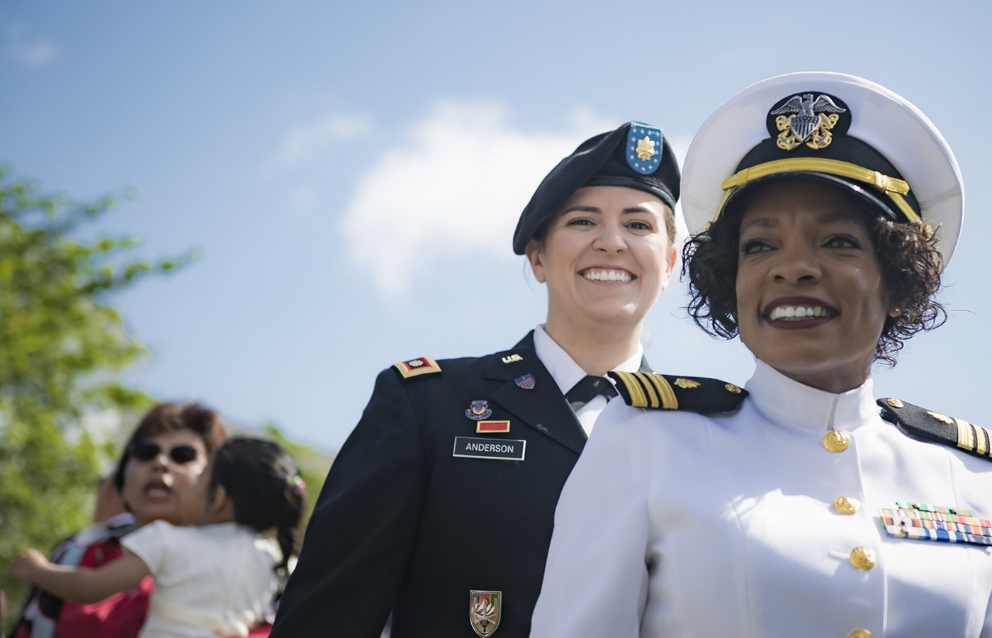 Students of U.S. Naval War College's (NWC) 2019 graduating class