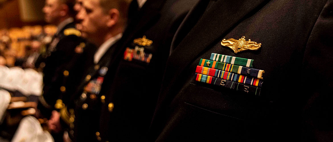 The U.S. Naval War College holds a graduation ceremony, March 3.