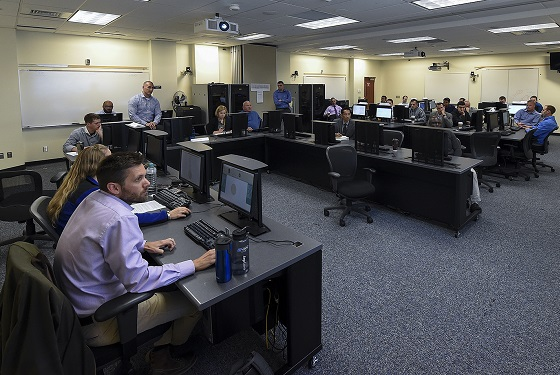 The Joint Military Operations (JMO) department at U.S. Naval War College (NWC), Newport, Rhode Island, hosts its Capstone educational event which is designed to expose students in the courses to maritime warfare problems and how to creatively approach them.
