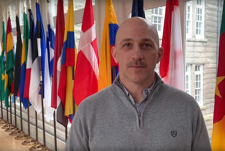 Professor Ryan Hill, U.S. Naval War College