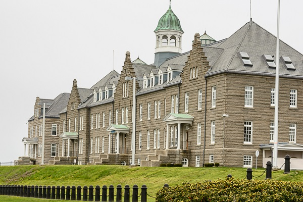 Main Naval War College building