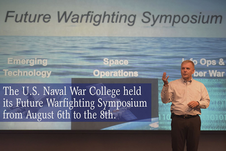 Future Warfighting Symposium at the U.S. Naval War College