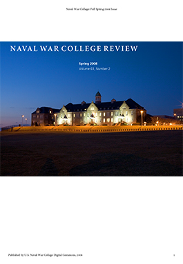 Naval War College Spring 2008
