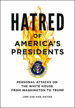 Hatred of America's presidents book cover