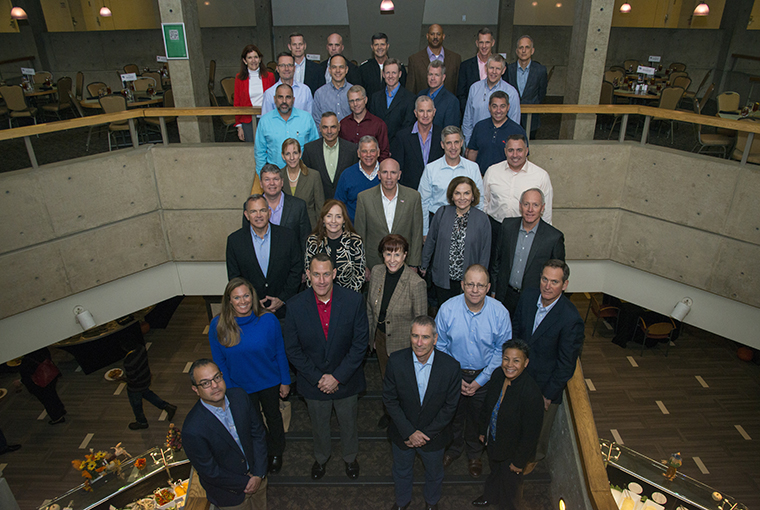 More than 30 Navy flag officers and senior-executive service leaders participated in the Partners in the Navy Profession, Intermediate Flag and Executive Course, or IFLEX, in November at the National Conference Center in Leesburg, Virginia