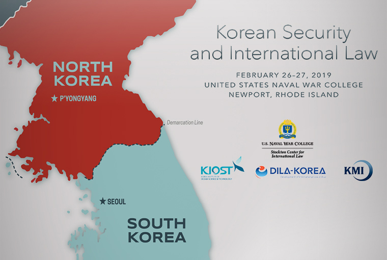 Korean Security and International Law web banner