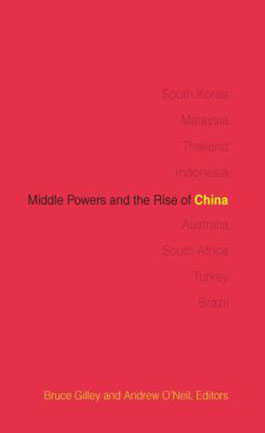 Middle powers and the rise of China book cover