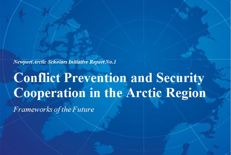 Cover page of the draft report from the 2020 Newport Arctic Scholars Initiative.