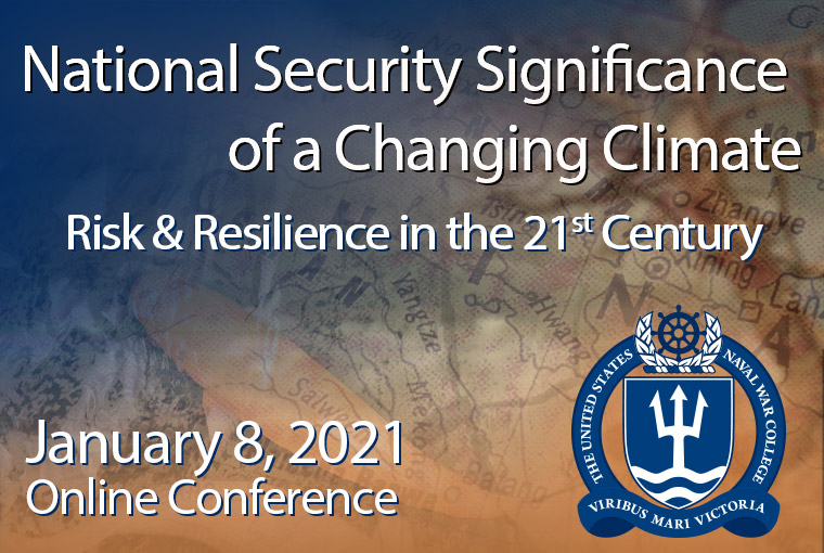 The National Security Significance of a Changing Climate banner