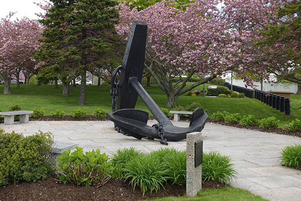 U.S. Naval War College anchor