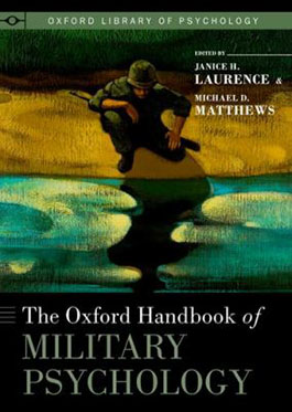 The Oxford handbook of military psychology book cover
