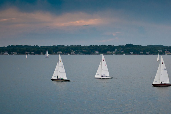 Sail boats of Newport, RI