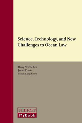Science, technology, and new challenges to ocean law book cover
