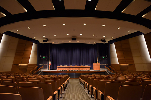 Spruance Auditorium at the U.S. Naval War College