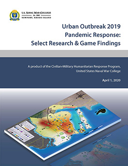 Urban Outbreak 2019 Pandemic Response Report Cover