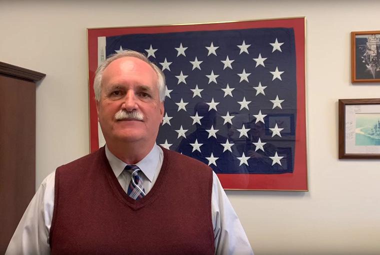 Deputy Dean John Meyer, College of Leadership and Ethics
