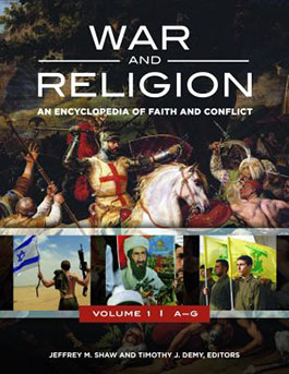 War and religion book cover