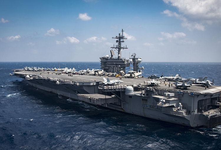 Aircraft carrier USS Carl Vinson (CVN 70) image