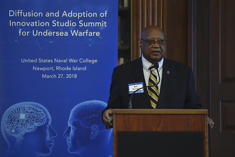 William Bundy, professor, U.S. Naval War College's (NWC) Strategic and Operational Research Department and director of NWC's Gravely Naval Warfare Research Group.