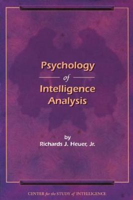 Psychology of Intelligence Analysis cover image