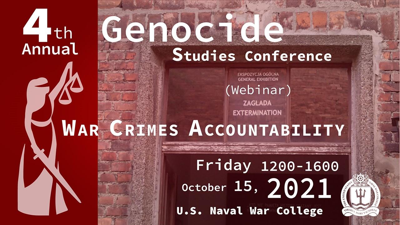 Genocide Studies Conference web banner
