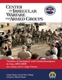Varieties of Insurgency and Counterinsurgency in Iraq, 2003-2009 by Jon Lindsay and Roger Petersen