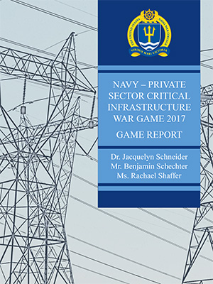 Navy-Private Sector Critical Infrastructure Report Cover