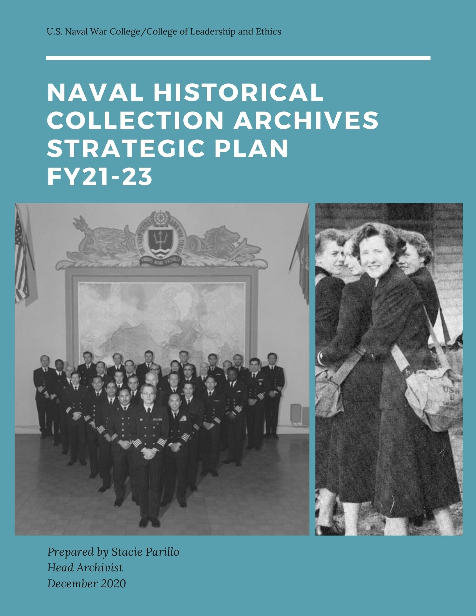 U.S. Naval Historical Collection Archives Strategic Plan FY 21-23