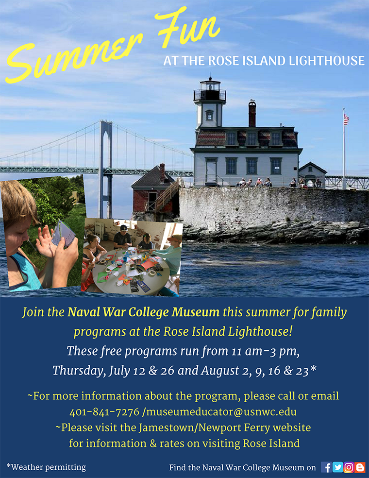 Free STEAM Programs at Rose Island: August 23, 2018