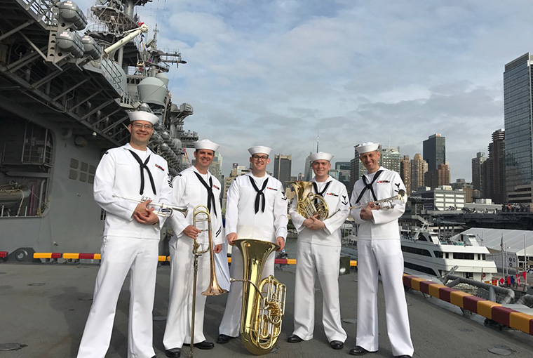 Navy Band Northeast Brass Quintet
