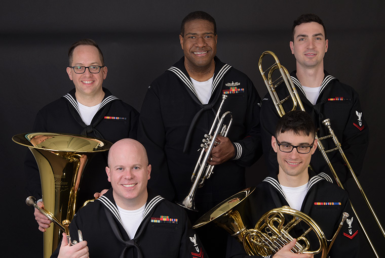Navy Band Northeast's Brass Quintet