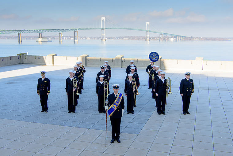 Navy Band Northeast's Ceremonial Band