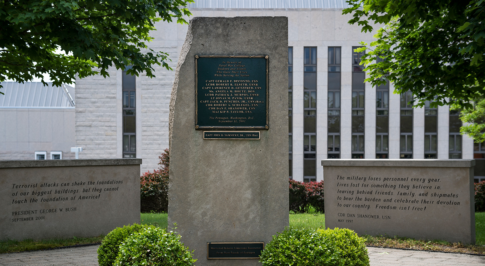 Memorial at U.S. Naval War College