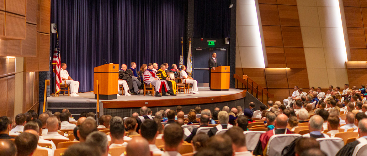 The U.S. Naval War College opened its academic year with an Aug. 5 convocation ceremony, welcoming 530 students from the U.S. armed forces and civilian national security agencies and international military officers from U.S. partner nations.